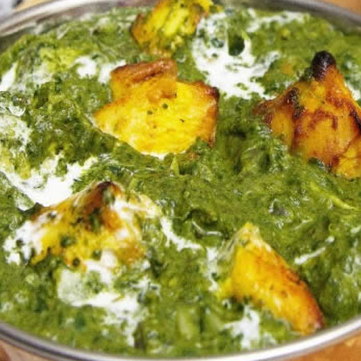 Chicken Saagwala - Black Pepper Indian Restaurants - in ...