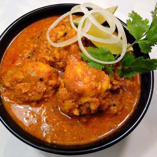 Chicken Vindaloo Black Pepper Indian Restaurants In Onehunga And